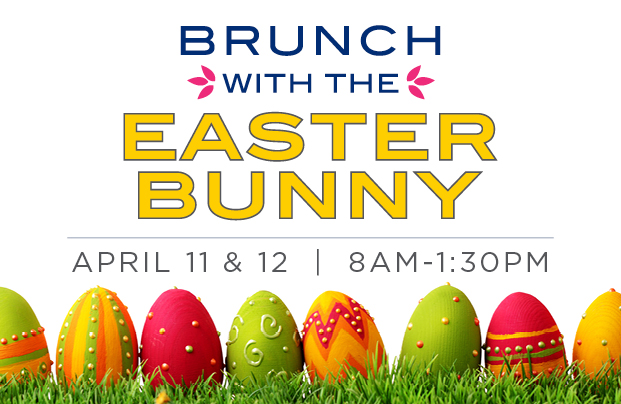 Brunch with the<br> Easter Bunny