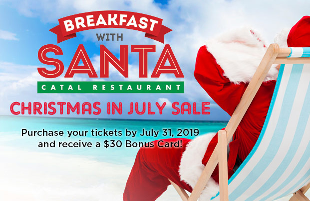 Breakfast With Santa<br>December 14th