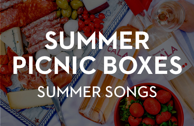 Summer Songs<br>Summer Picnic Boxes:<br>July 3rd