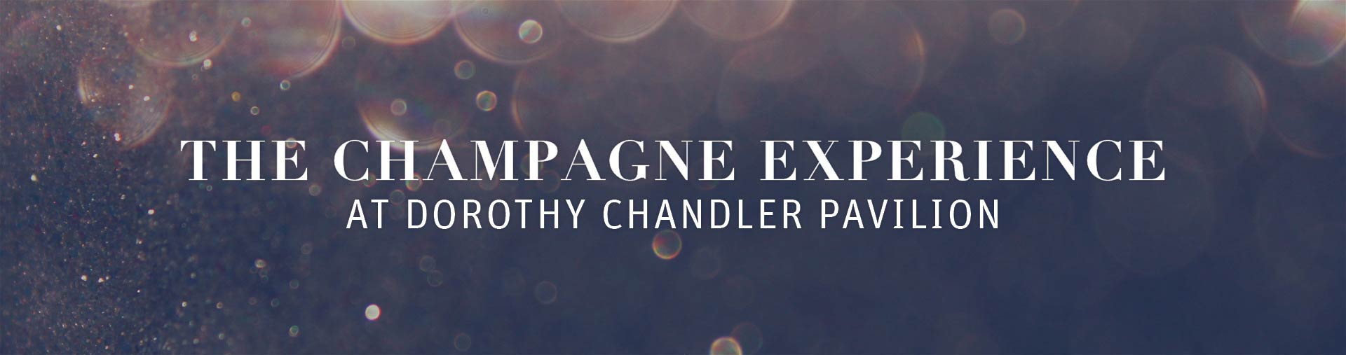 CHAMPAGNE EXPERIENCE