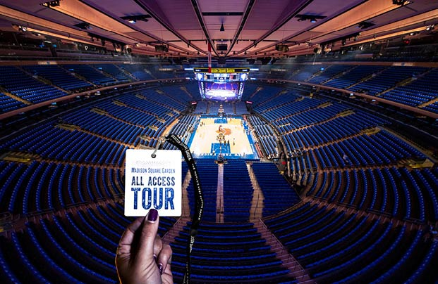 MSG All Access Tour™ Experience