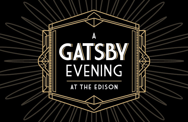 A Gatsby Evening <br>at The Edison