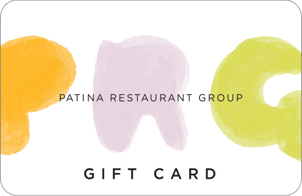 Patina Restaurant Group Gift Card