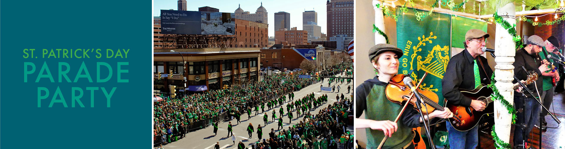 St. Patrick's Day Parade Party